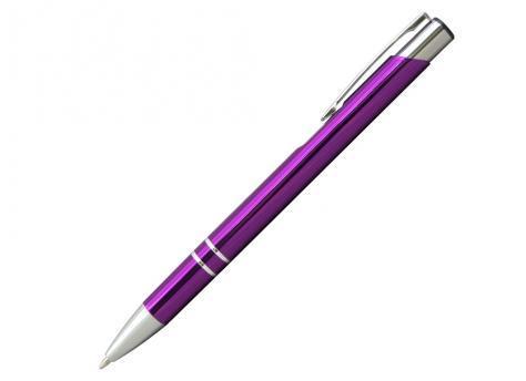Ручка шариковая, COSMO, металл, фиолетовый/серебро артикул SJ/VL