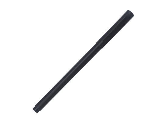 Ручка роллер, металл, черный/черный артикул AH499-R/BK-BK