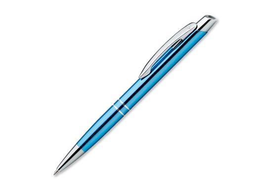 Ручка шариковая, металл, Marietta, голубой артикул 13524-13