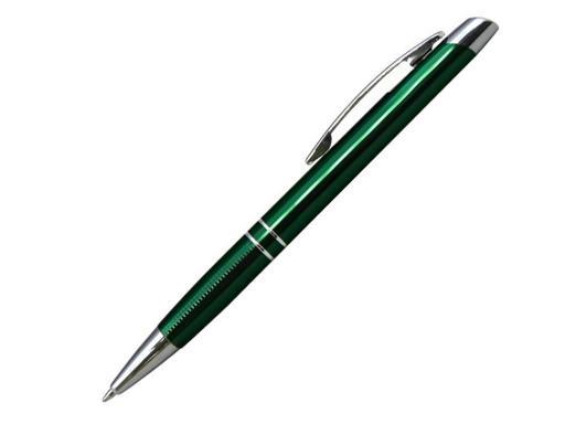 Ручка шариковая, металл, Marietta, зеленый/серебро артикул 13524-40