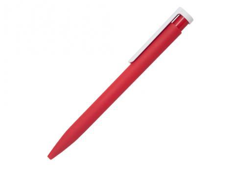 Ручка шариковая Stanley, пластик, софт тач, красный/белый артикул 201132-BR/RD