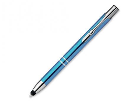 Ручка шариковая, металл, голубой Oleg Touch артикул 12509-22