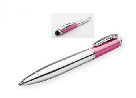 Ручка шариковая, металл, розовый Viera артикул 12573-70