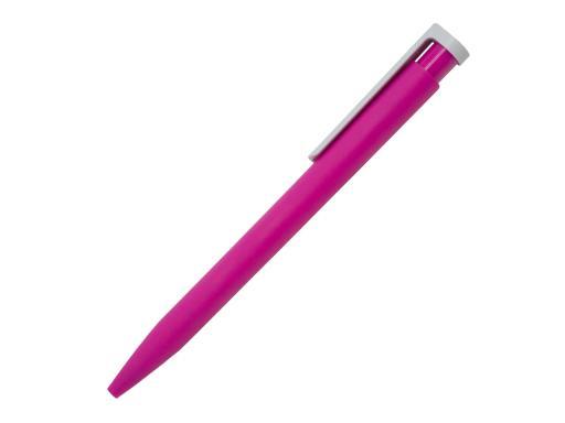 Ручка шариковая Stanley, пластик, софт тач, розовый/белый артикул 201132-BR/PK