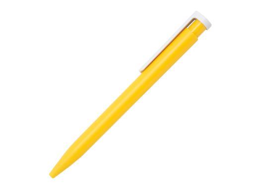 Ручка шариковая Stanley, пластик, желтый/белый артикул 201132-B/YE
