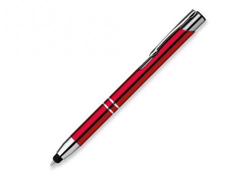 Ручка шариковая, металл, красный Oleg Touch артикул 12509-30