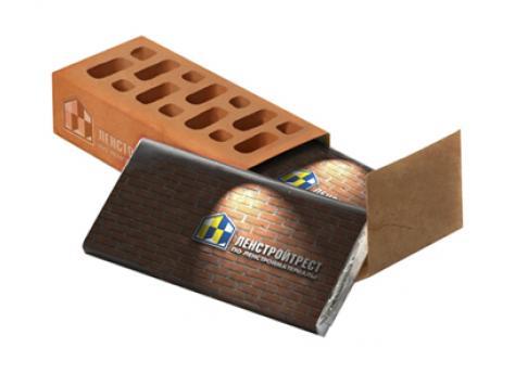 Шоколадный набор «Кирпич»