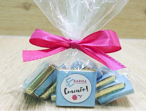 Шоколадный набор «Спасибо»